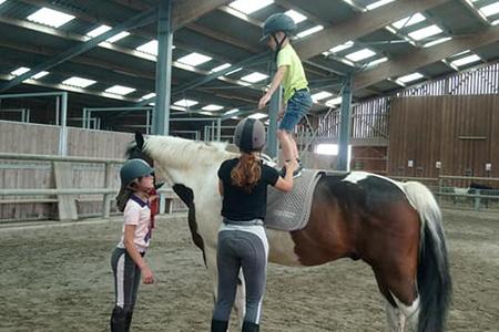Cours d'équitation pour adolescents Abbeville