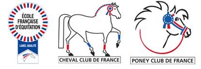 Labels de la Fédération Française d'Equitation